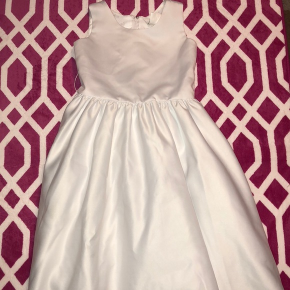 eee1ab75c3d3 Size 7 little girls formal white dress